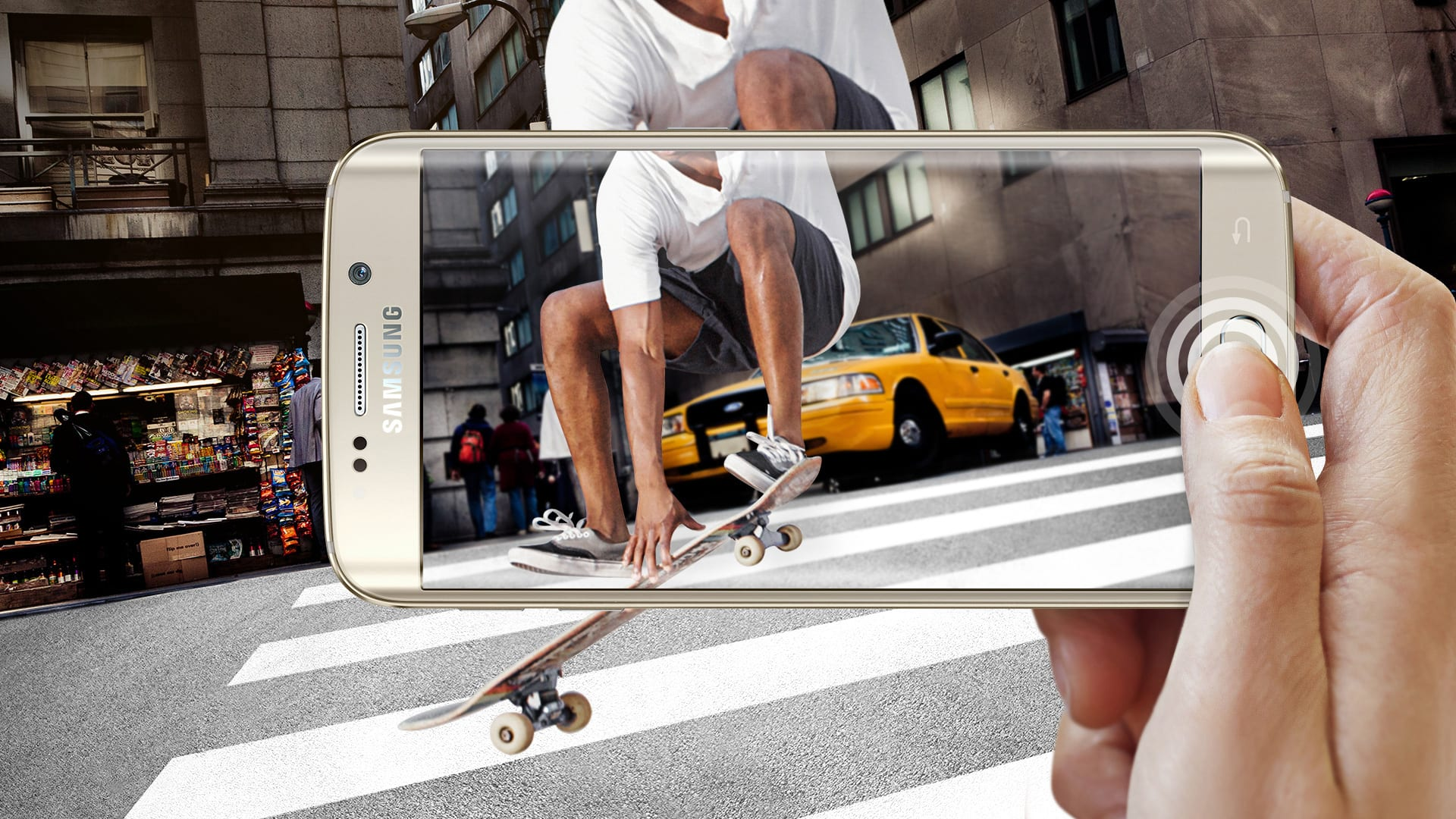 Cámara del Samsung Galaxy S6