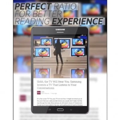 Galaxy Tab A anuncio