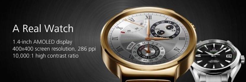 Huawei reloj oro