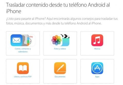 Migrar de Android a iOS