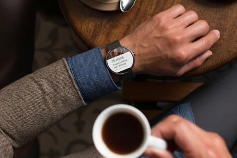Moto360 Android Wear.