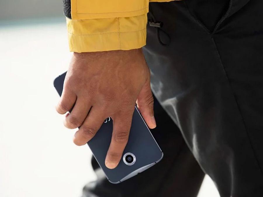 Nexus 6 trasera.