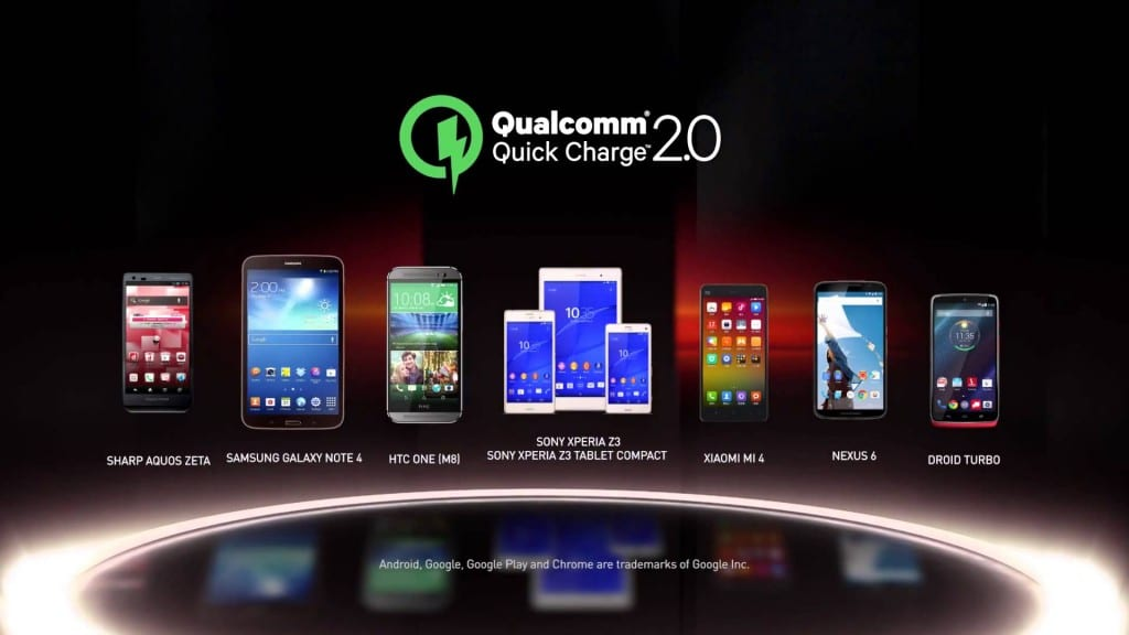 Quick Charge 2.0 de Qualcomm
