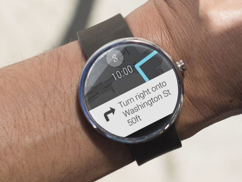 Android Wear maps