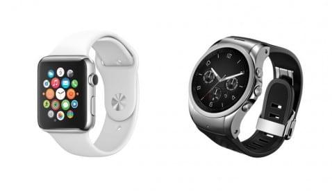 Apple Watch LG Watch Urbane