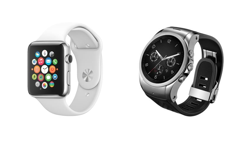 Apple Watch LG Watch Urbane
