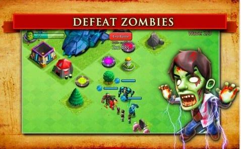 Clash of Zombies II, el juego de zombies al más puro estilo de Clash of Clans