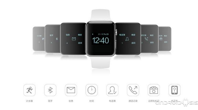 ¡¡OJITO!! Comprar el iWatch de Apple ya es posible aunque solo burdas imitaciones fabricadas en china