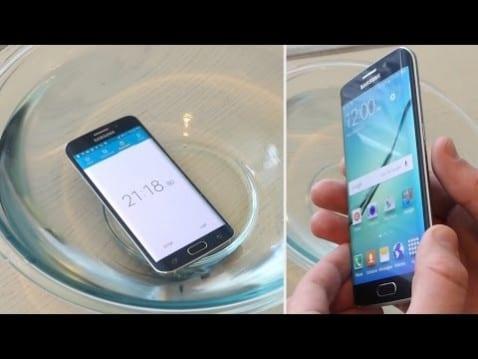 Galaxy S6 Edge resistente al agua
