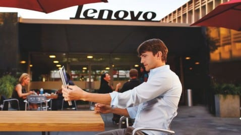 Lenovo Ashton Kutcher