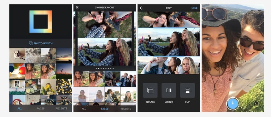 layout instagram collages