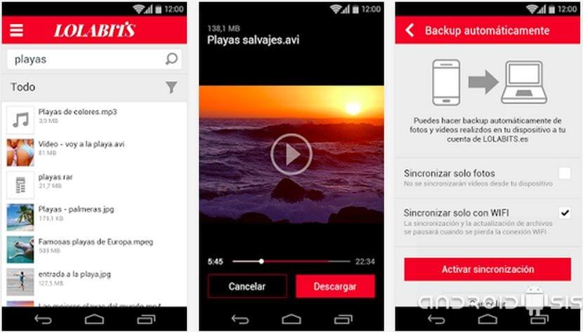 Lolabits, el almacenamiento en la nube ilimitado llega de manera oficial a Android