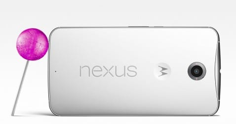 Nexus 6 Lollipop