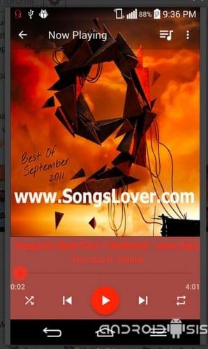 Marina Music Player, otro buen reproductor de música totalmente gratuito y con muchas funcionalidades