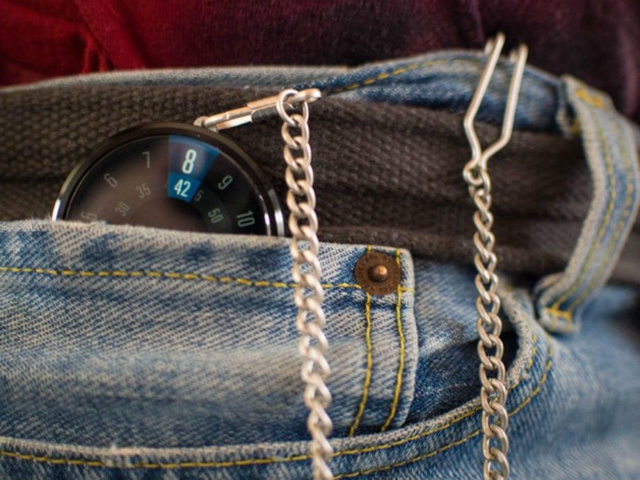 moto 360 reloj de bolsillo