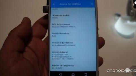 Te enseñamos en vídeo como rueda el Z3 con Android 5.0.2 Lollipop oficial de Sony