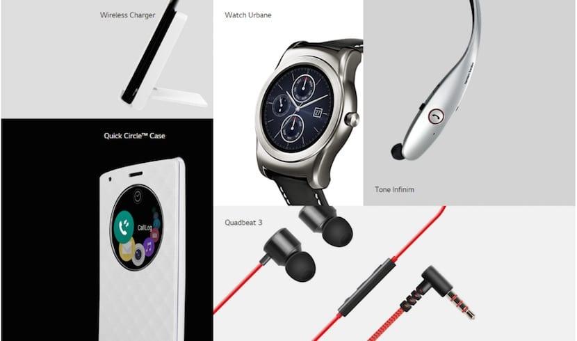 Accesorios LG G4 minisite