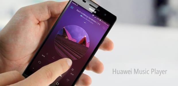musica con huawei p8 lite
