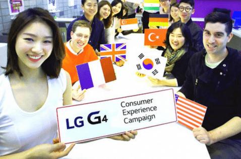 LG G4 Pruebas