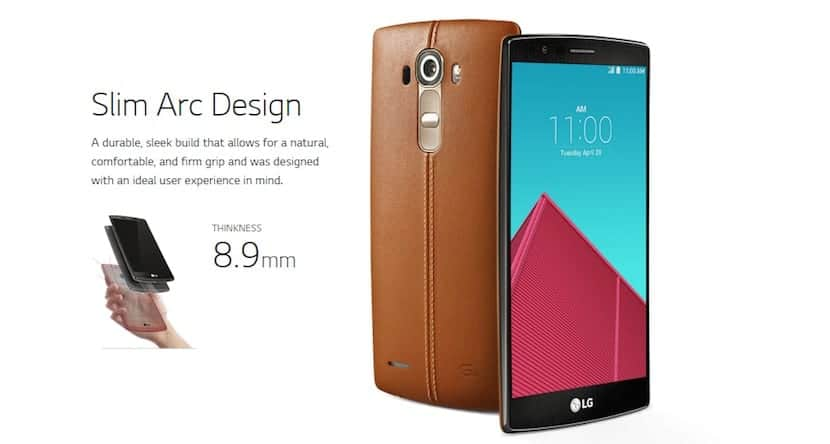LG G4 minisite
