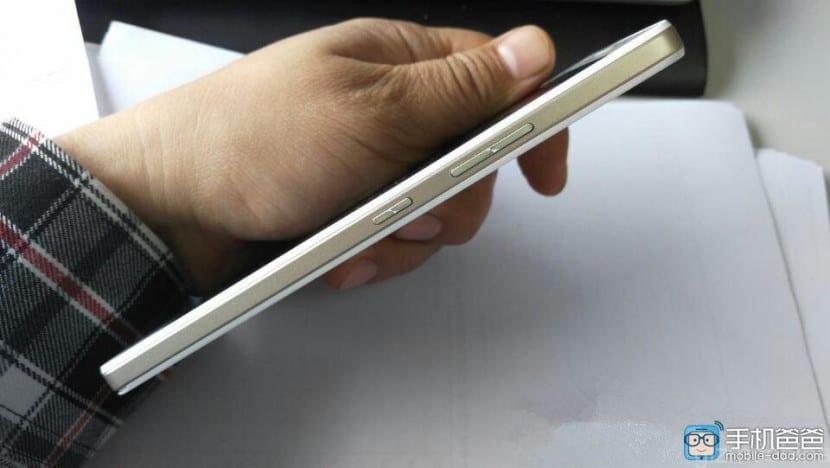 Lenovo A7600 M perfil
