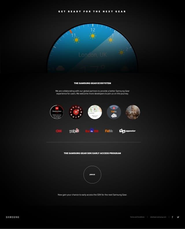 Samsung gear circular