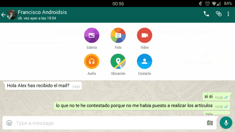 material design whatsapp