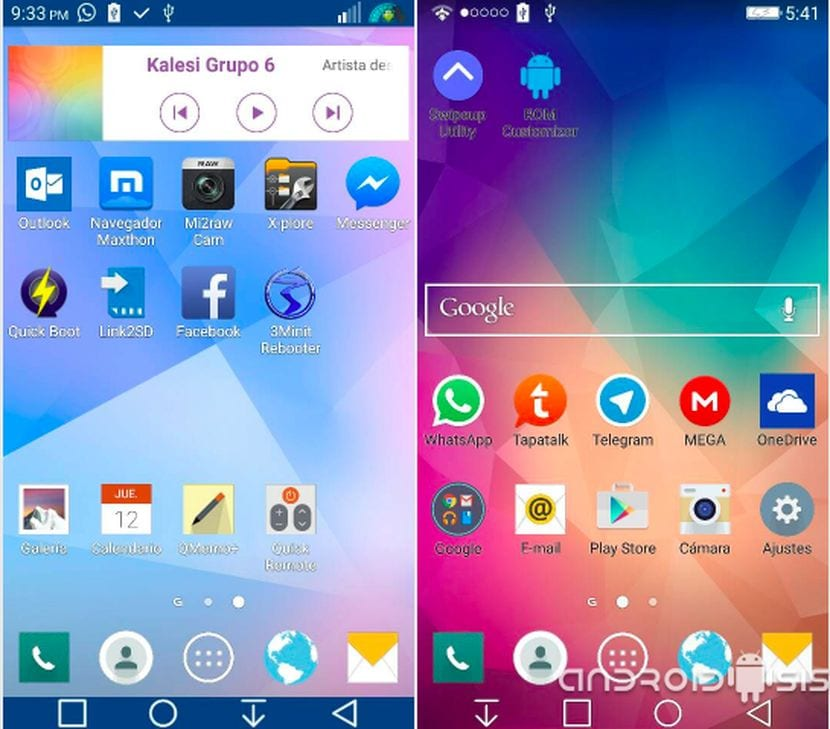La mejor manera de actualizar el LG G2 a Android Lollipop oficial