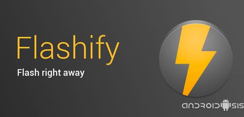 [APK] Flashify te permite flashear archivos zip sin necesidad de reiniciar en modo recovery