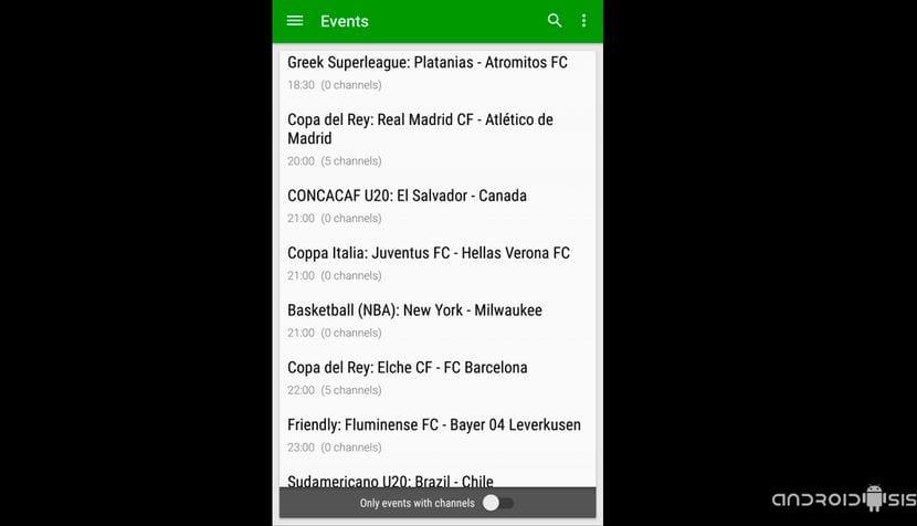 La mejor aplicación para poder ver fútbol gratis