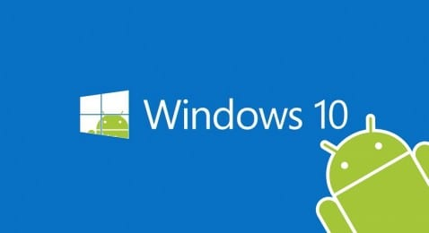 Windows 10 apps Android