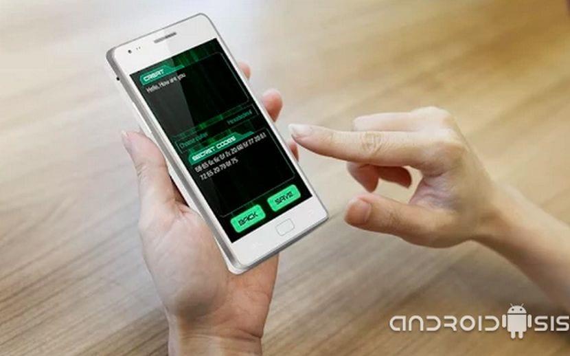 Cómo cifrar y resolver mensajes cifrados desde nuestro Android