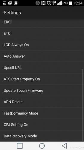 Cómo recuperar el doble toque en el LG G2 para apagar y encender la pantalla