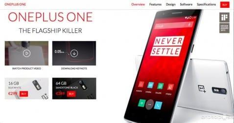 Comprar el OnePlus One sin esperas ya es posible y para siempre