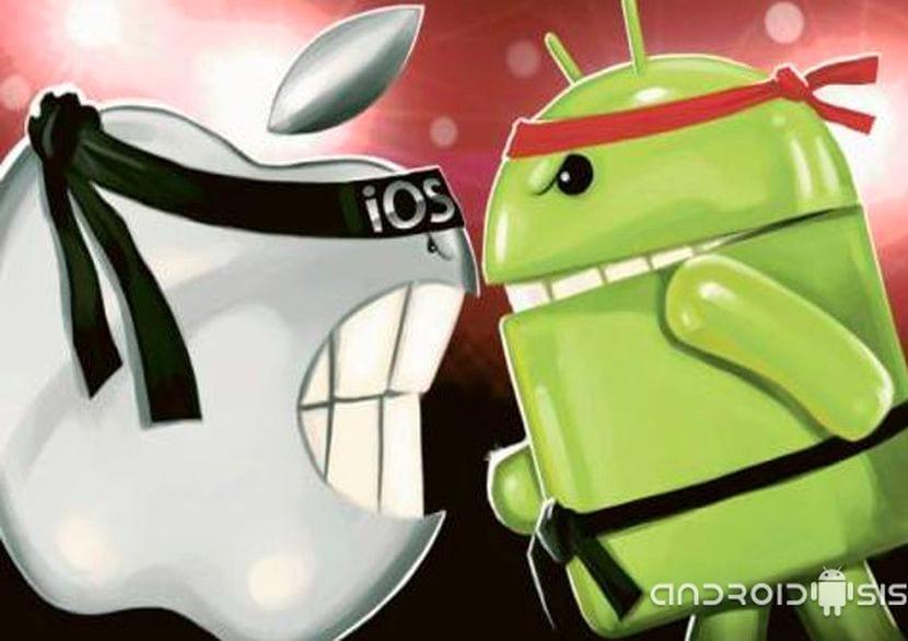 Dos amigos acaban a puñaladas por defender a Android vs iOS