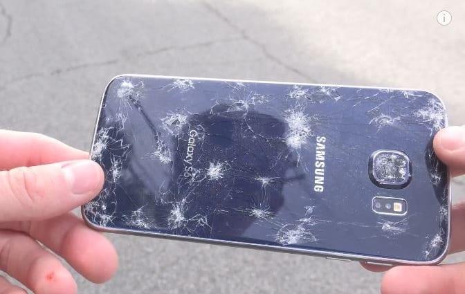 Galaxy S6 test de resistencia