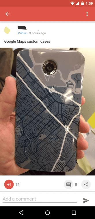 carcasa google maps
