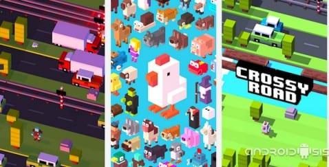 Juegos adictivos para Android: Hoy, Crossy Road o ¿por qué cruzó la gallina la carretera?