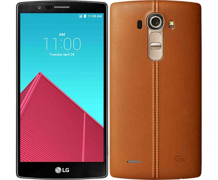 lg g4 frontal