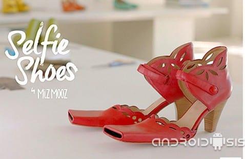 zapato para Selfies