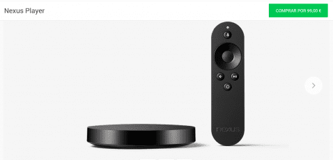 nexus player españa