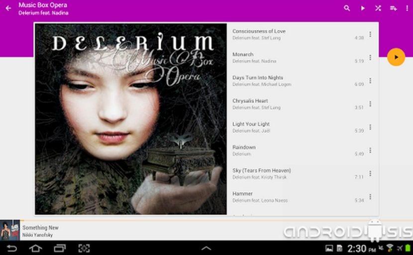 Orpheus Music Player, un reproductor de música Material Design con soporte real para Chromecast