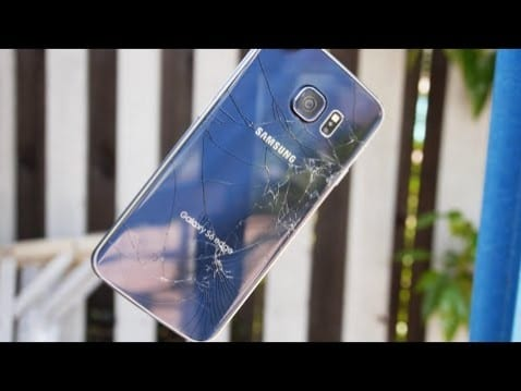 drop test galaxy s6 edge