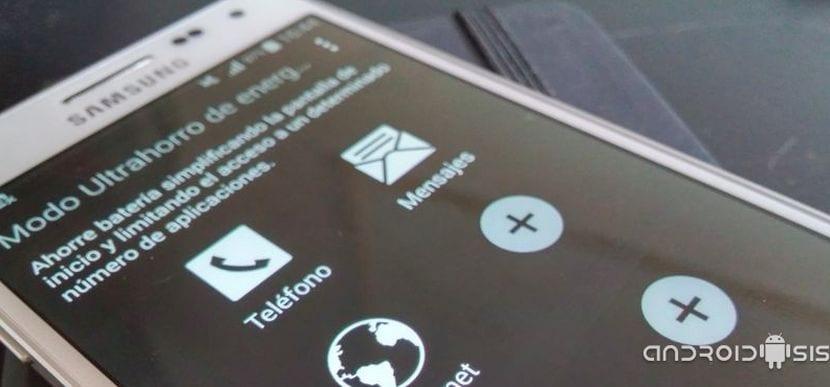 Cómo habilitar el modo Ultra ahorro de energía en el Samsung Galaxy S4 Lollipop