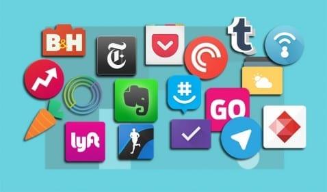 18 apps material Design