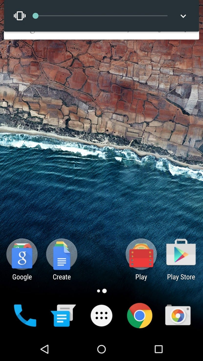 Android M control volumen 2