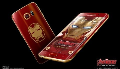 Iron Man Galaxy S6