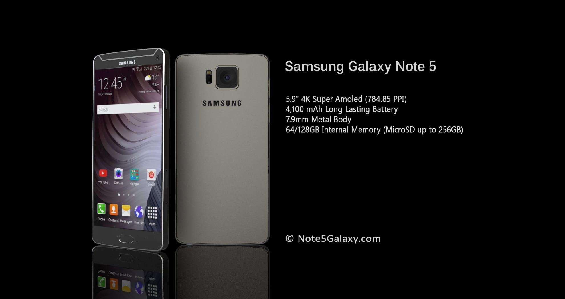 Galaxy Note 5, ¿ ...