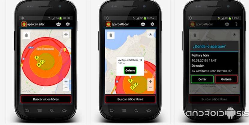 Aplicaciones increíbles para Android: Hoy aparcaRadar