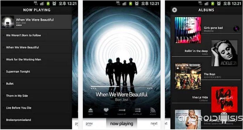 Aplicaciones increíbles para Android: Hoy LPIN PLAYER, un sensacional y diferente reproductor de música para Android